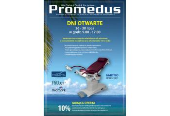 Dni otwarte w Promedus, 26 – 30 lipca 2021