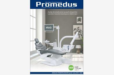 Katalog stomatologiczny Promedus - oferta promocyjna jesień/zima 2021