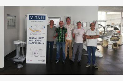 Szkolenie w firmie VITALI dla naszych inżynierów serwisu