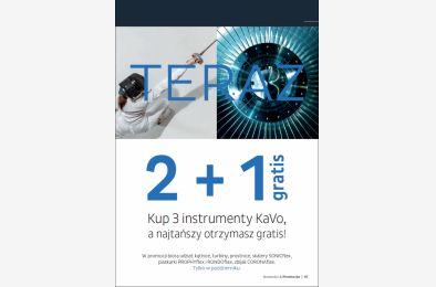 Promocja na instrumenty KaVo 2+1 - październik 2021