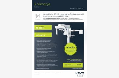 Radiologia KaVo - promocja jesień 2020