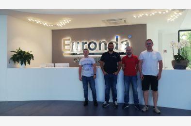 Szkolenie w firmie Euronda dla naszych inżynierów serwisu