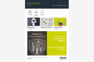 Promocje KaVo - Maj, Czerwiec 2020