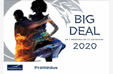 BIG DEAL 2020 - promocja na fotele ginekologiczne i medyczne