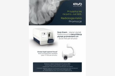 KaVo Scan Exam UV - promocja