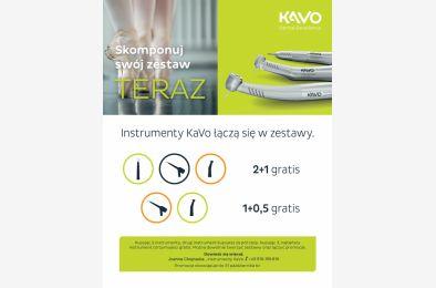 Promocja na instrumenty KaVo 2+1 oraz 1+0,5
