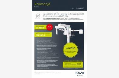 Radiologia KaVo - promocja wrzesień 2020